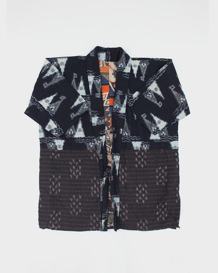 Vintage Kasuri Noragi Jacket, 18