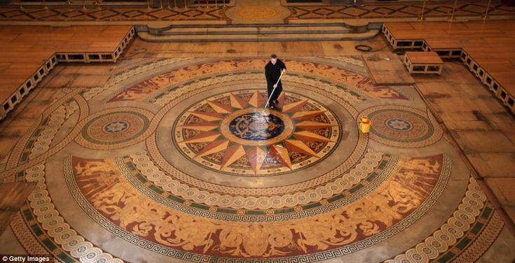 St Georges Hall, Liverpool - Handmade Minton Mosaic Floor with over 30,000 tiles opens to public
