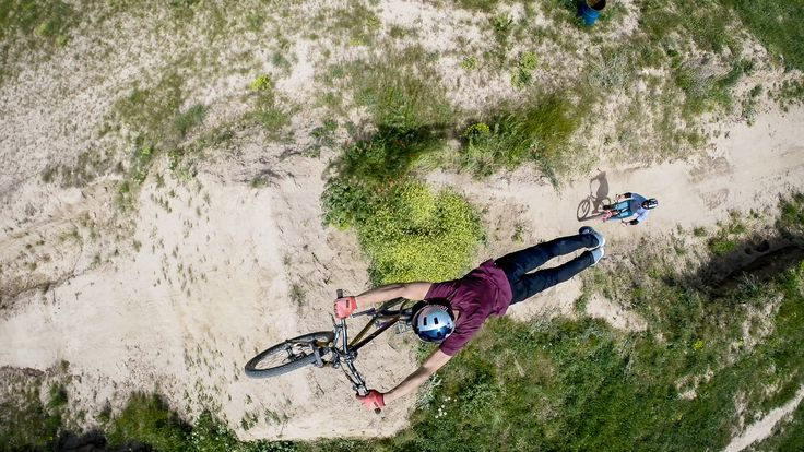 Creator of the Week - $1000 voucher winner! Superman from above! #MTB Epic shot by Cyril Chancy.
