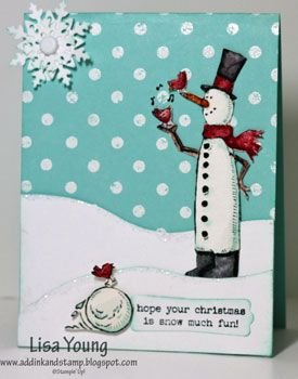 Add Ink and Stamp: Holidays-Christmas