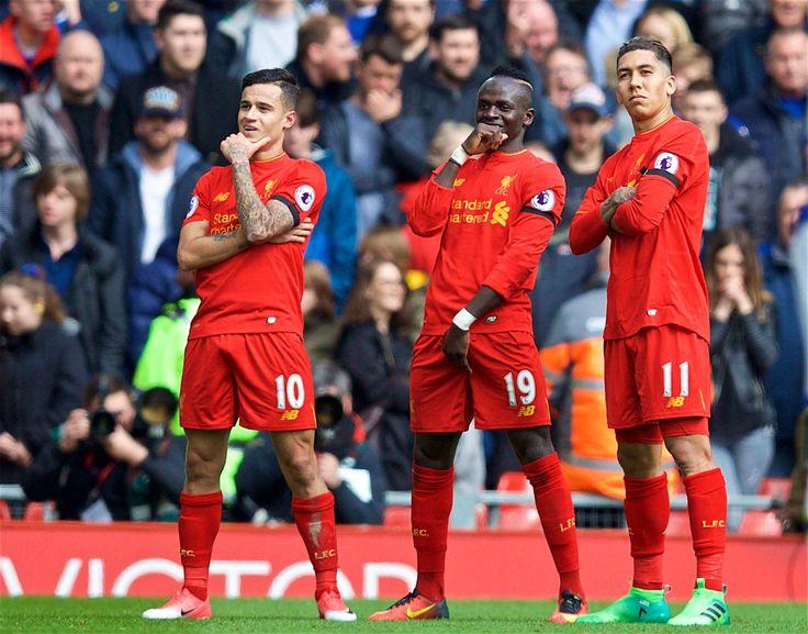 Ele voltou! Coutinho brilha e Liverpool vence o Merseyside Derby no Anfield - http://www.90goals.com.br/ele-voltou-coutinho-brilha-e-liverpool-vence-o-merseyside-derby-no-anfield