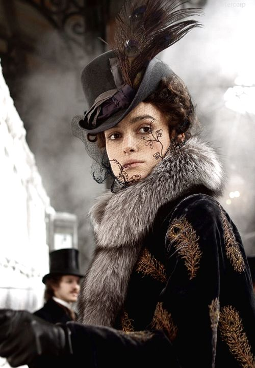 Keira Knightley as Anna in Anna Karenina (2012) by Joe Wright. Costume design: Katie Spencer