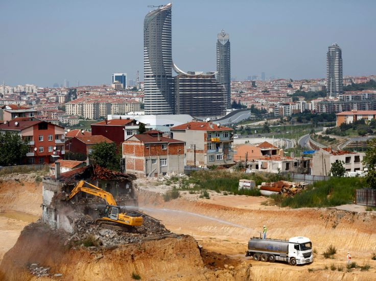 The 20-year Turkey Urban Renewal Project, a far-reaching plan to demolish some 7 million buildings and rebuild earthquake-resistant structures in their place, began in 2012 with an estimated cost of $400 billion.