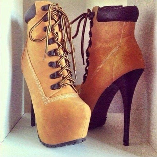 Hello sexy Timberland heels