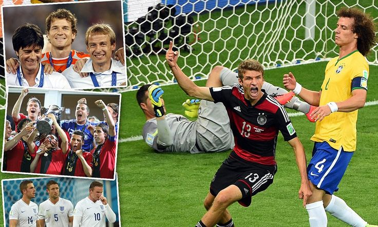 MARTIN SAMUEL: Germany is a team bred for success, unlike England
