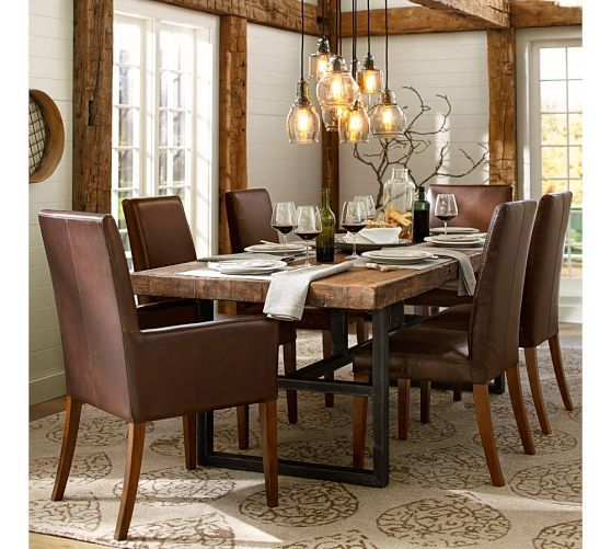 Dining table pottery barn dining table for Dining room tables pottery barn