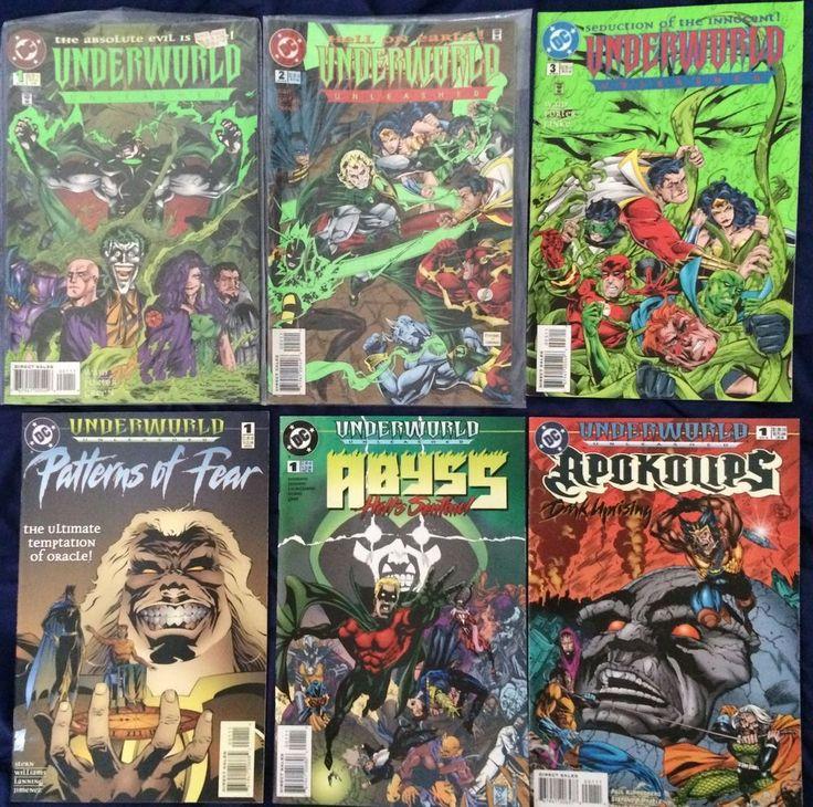 Selling - Underworld Unleashed x6 issues (1995) FREE WORLDWIDE POSTAGE #DCComics #Superman #Batman #Joker #Flash #JusticeLeague