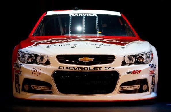 NASCAR CUP: 2013 NASCAR Chevrolet SS Unveiled (KEVIN HARVICK) http://RacingNewsNetwork.com/2012/11/29/2013-nascar-chevrolet-ss-unveiled/