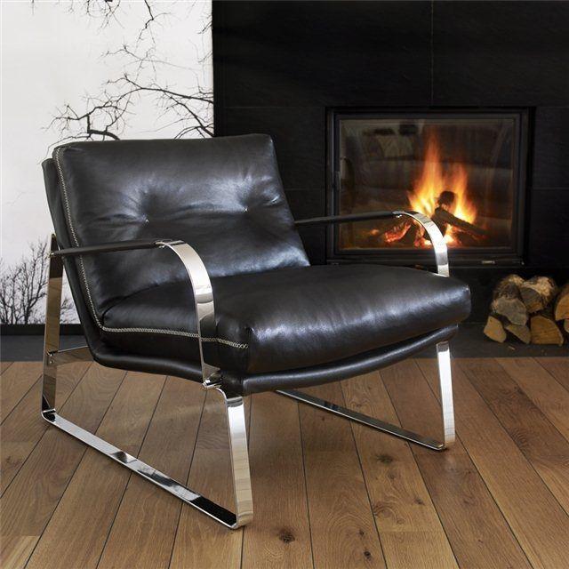 Fauteuil design scandinave / avec repose-pieds / luge / en tissu - SHABBY by Lenka Tellmann - Conform
