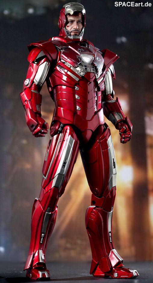 Iron Man 3: Silver Centurion Mark 33 - Deluxe Figur, Fertig-Modell, http://spaceart.de/produkte/irm021.php
