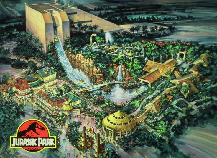 Jurassic Park: The Ride Universal Studios Hollywood   JURRASIC PARK – THE RIDE (Universal Studios Hollywood)