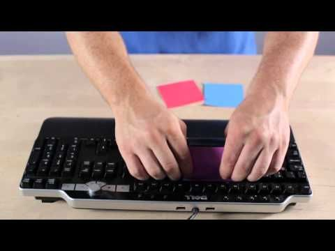 Clean Your Keyboard With Post-It Notes. Part of the series: #eHowHacks: Tech Tips & Tricks. Dust off your old Post-it notes and stick it to your dirty keyboard with this cleaning tip from #eHowHacks. Read more: http://www.ehow.com/video_12340683_clean-keyboard-postit-notes.html