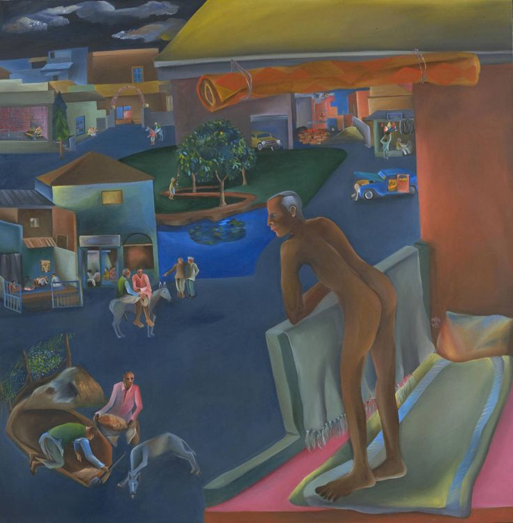 Self-Portraits of Color — Bhupen Khakhar You Can't Please All  India (1981)...
