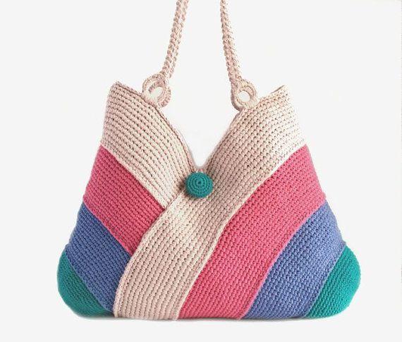 Modern beach handbag summer bag picnic tote bag hand