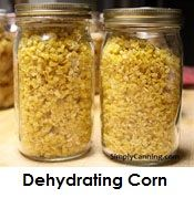 Canning Corn, Step by step instructions using a pressure canner.