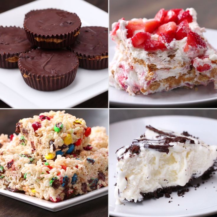 4 Easy 3-Ingredient No-Bake Desserts