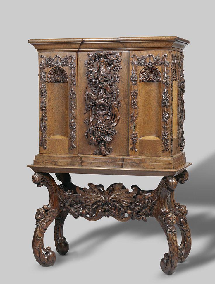 Baby linen cabinet, Anonymous, c. 1655 - c. 1675