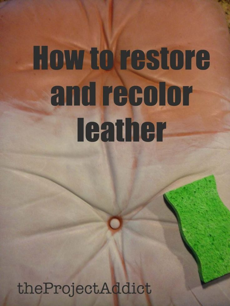 Best 25+ Leather restoration ideas only on Pinterest | Leather ...