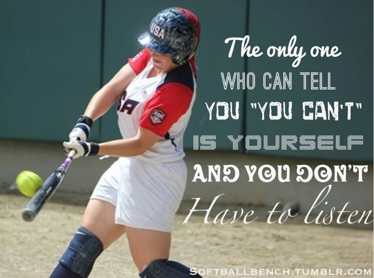 """I so need this I always tell myself this when I pitch balls over and over again! """"I can't do it"""" want be an excuse anymore!"""