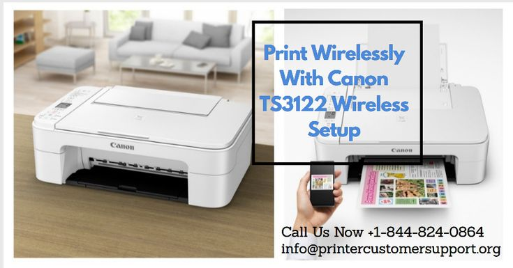 Print Wirelessly With Canon TS3122 Wireless Setup in 2020 ...