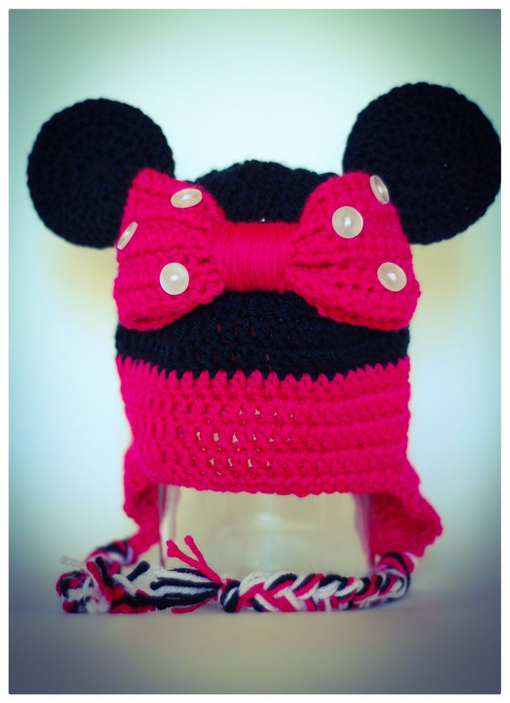 La jolie Minnie doublée (12 mois) de la boutique Mailleatoutplaire sur Etsy