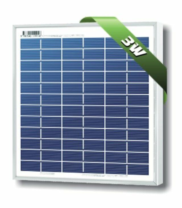 Solarland Slp003 12u 3w 12v Solar Panel In 2020 Best Solar Panels Solar Technology Solar Panels