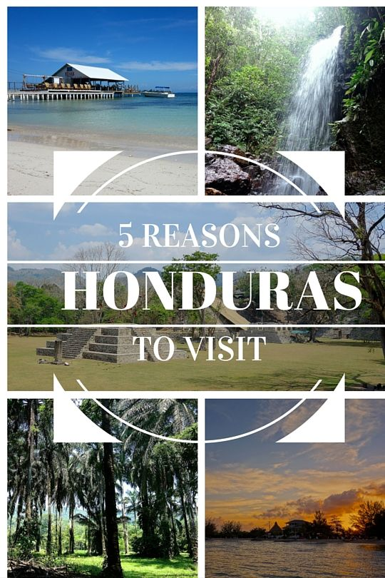 Honduras has some of the most lush rainforests, stunning waterfalls, beautiful beaches and friendly people in the whole of Central America. 5 Reasons to travel through Honduras.