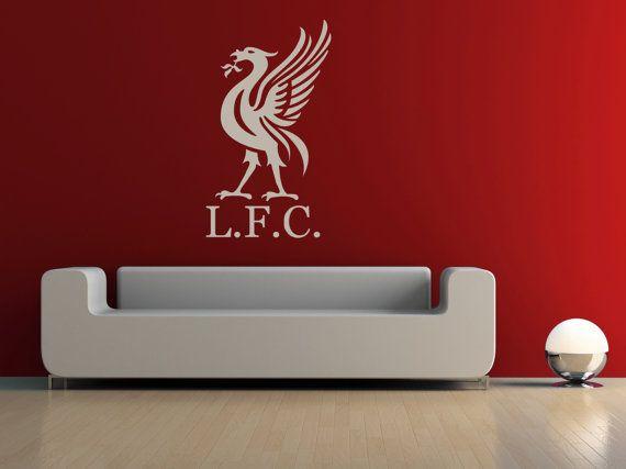 Liverpool watch liverpool room liverpool lfc vinyl wall stickers