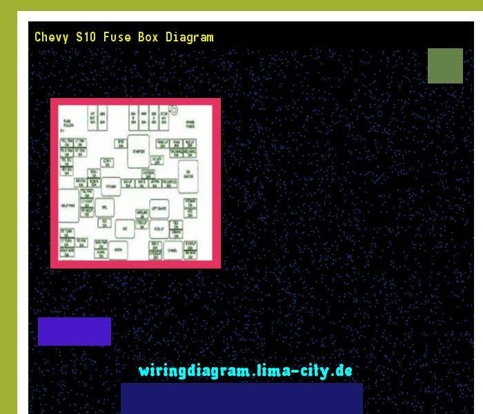 Chevy s10 fuse box diagram. Wiring Diagram 174551