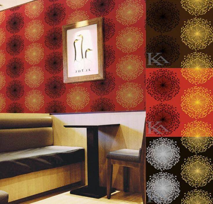Make a Wish este tapetul modern si perfect pentru cafenele, cluburi, saloane sau restaurante!    #kainternational, #decor, #amenajari, #tapet