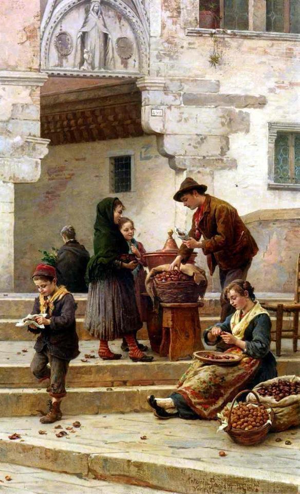 """Antonio Paoletti (1881-1943) """"kestane""""."""