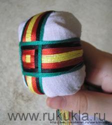 Кукла мотанка Мастер класс по изготовлению сакрального креста на лице   Tutorial for making the motanka's head