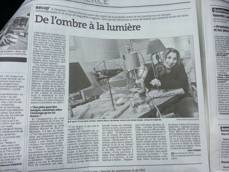 Article presse www.recupandco.bigcartel.com