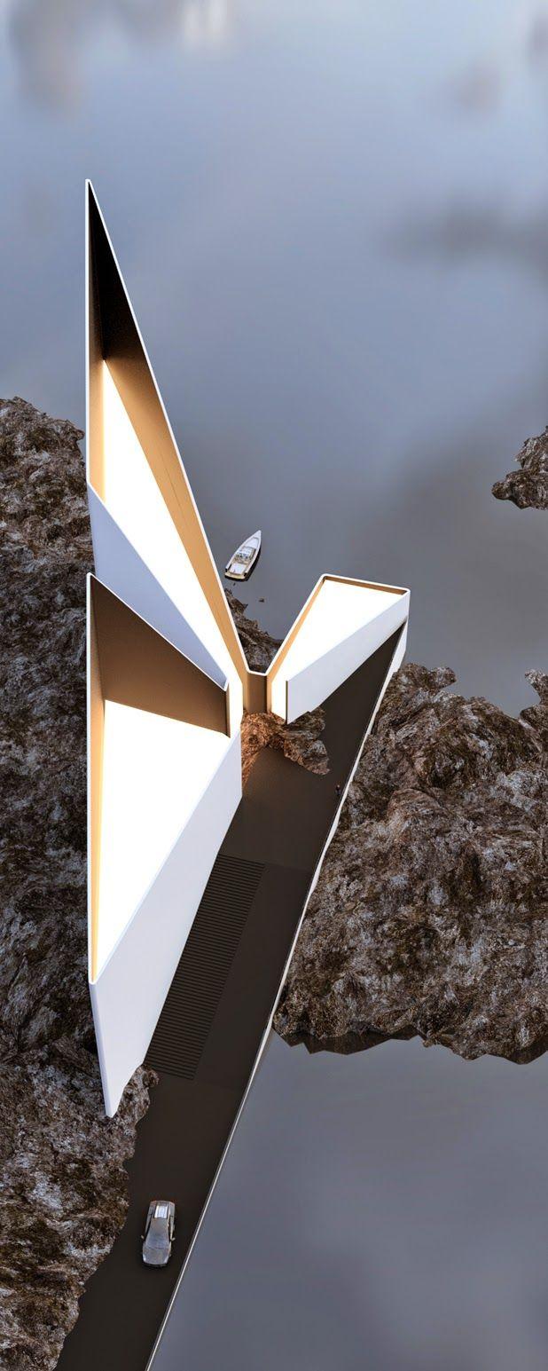 architectural concepts by Roman Vlasov…