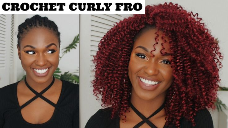 HOW TO   NATURAL RED KNOTLESS CROCHET BRAIDS - OUTRE XPRESSION!