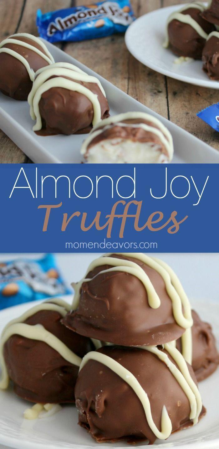 Almond Joy Truffles - a delicious no-bake treat!