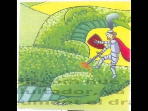 ▶ CONTE MUSICAL LA LLEGENDA DE SANT JORDI.wmv - YouTube