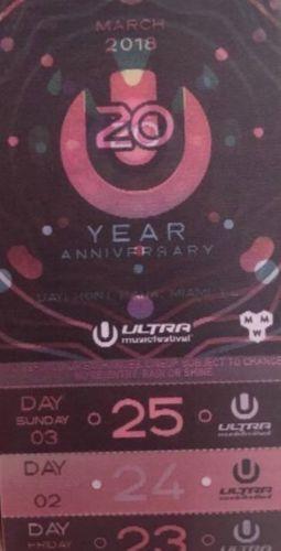 #tickets Ultra Music Festival Tickets VIP 3 Day Pass please retweet