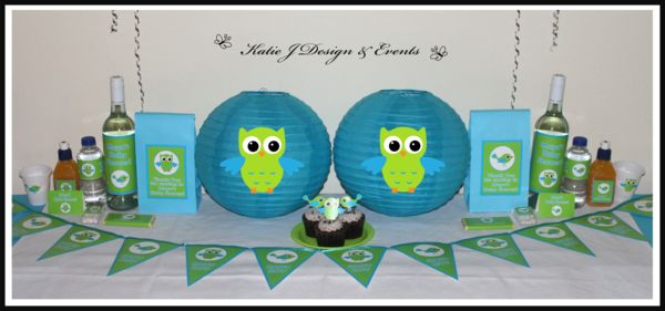Paper Lanterns #Birds #Owl #Boys #Floral #Blue #Green #Naming #Day #1st #Baby #Cute #Shower #Birthday #Bunting #Party #Decorations #Ideas #Banners #Cupcakes #WallDisplay #PopTop #JuiceLabels #PartyBags #Invites #KatieJDesignAndEvents #Personalised #Creative