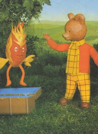 Little Gems - The Adventures of Rupert Bear , with willy wisp