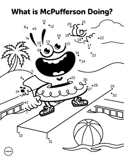 gonoodle monsters coloring pages - photo#11