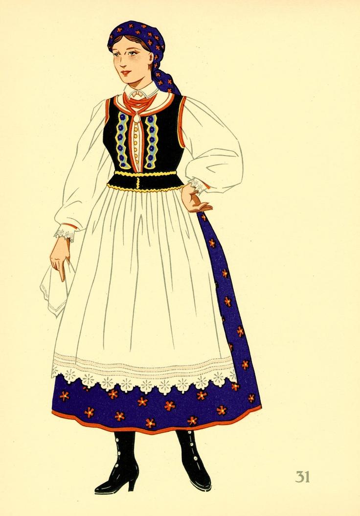 31 POLAND: A Cracow Costume.