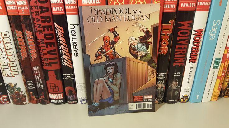 Deadpool Vs Old Man Logan  Video-https://m.youtube.com/watch?v=Ceuzc51IkVg  #deadpoolvsoldmanlogan #deadpool #ryanreynolds #wolverine #hughjackman #logan #oldmanlogan #adisnukic #avengers #avengersinfinitywars #avengersinfinitygauntlet #xmen  #comics #comicbook #graphicnovel  #art #comicbookcollection #omnibus #igcomics #comiccollector #igcomicfamily #comiccollection