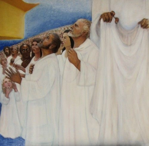 In our article on the Red Moon Rapture, we went into detail on the significance of the white robes worn by the Raptured Church.