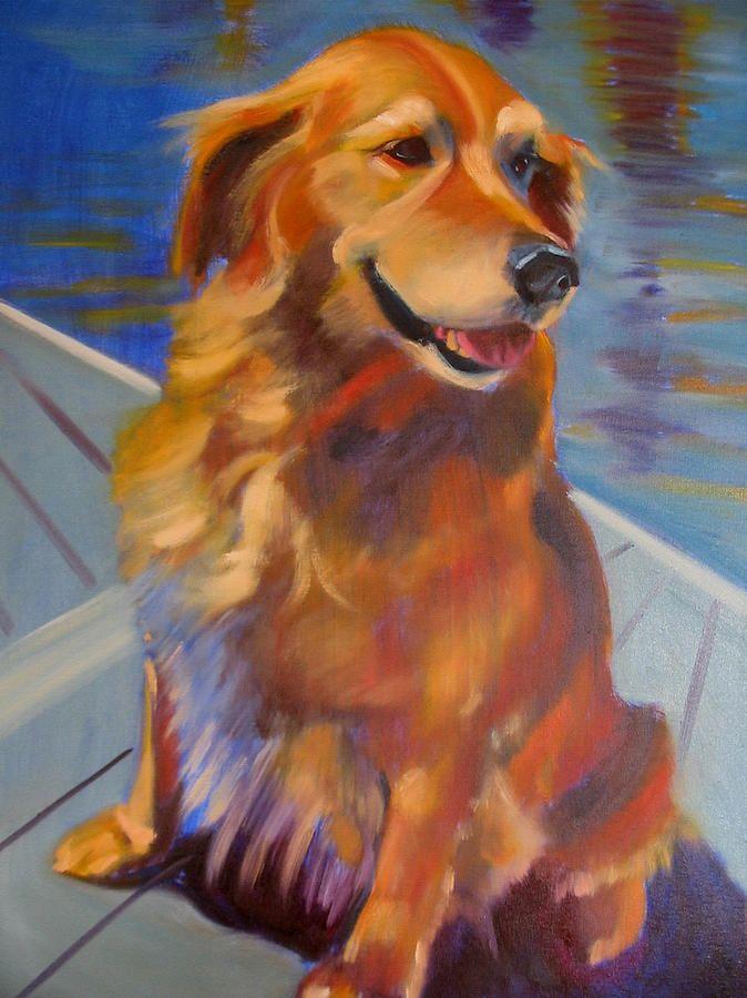 Sasha Painting  - Sasha Fine Art Print
