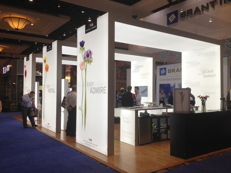 Fabric Exhibition Stand Examples : Best trade shows and exhibits with matrix frame images