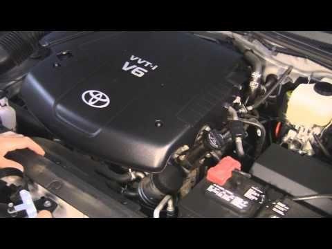 Toyota Tacoma Gen2 Oil & Air Filter Change DIY 1GR-FE 4.0 L V6 Engine 2005-2013 - YouTube