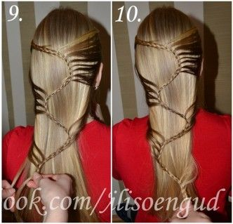 How to DIY Cool Super S Braid Hairstyle3