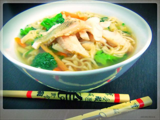 Noodle Soup with River Bass | You've Got Meal!