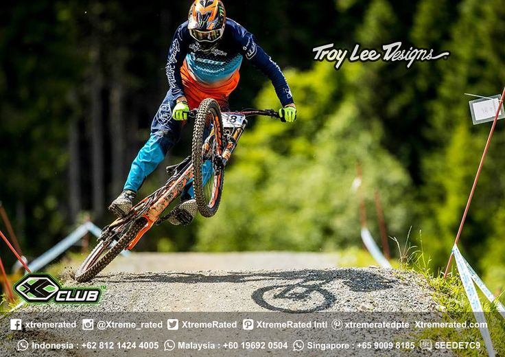 Brendan Fairclough laying it down in Leogang | TLD MTB 2017 Available now in all XClub Stores |    #xtremerated #xclub #troyleedesigns #mtb #downhill #gravity